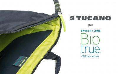 """Gli zaini e i trolley Tucano protagonisti del concorso Bausch & Lomb """"Guarda lontano con Biotrue® ONEday"""""""