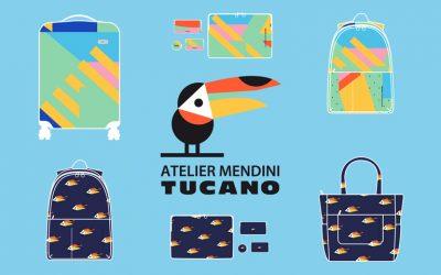 Tucano Shake, la collezione di borse, zaini e accessori travel con le grafiche di Alessandro Mendini
