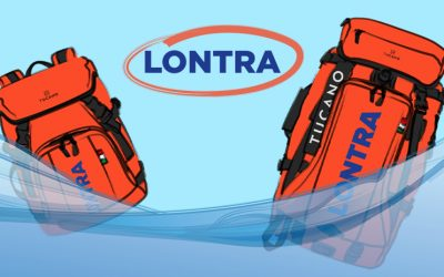 Tucano presents Lontra, the eco-friendly floating backpack