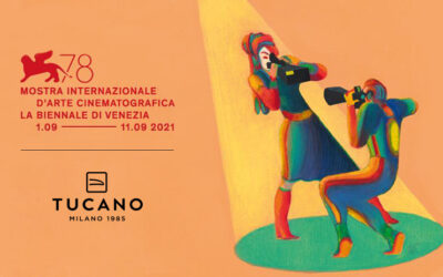 Tucano's eco-friendly shoppers once again chosen for the 78th Venice International Film Festival