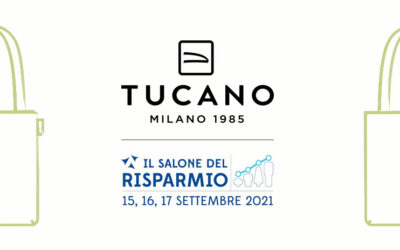 The eleventh edition of the Salone del Risparmio is brimming with Tucano shoppers, the event's official promotional item for all registered participants
